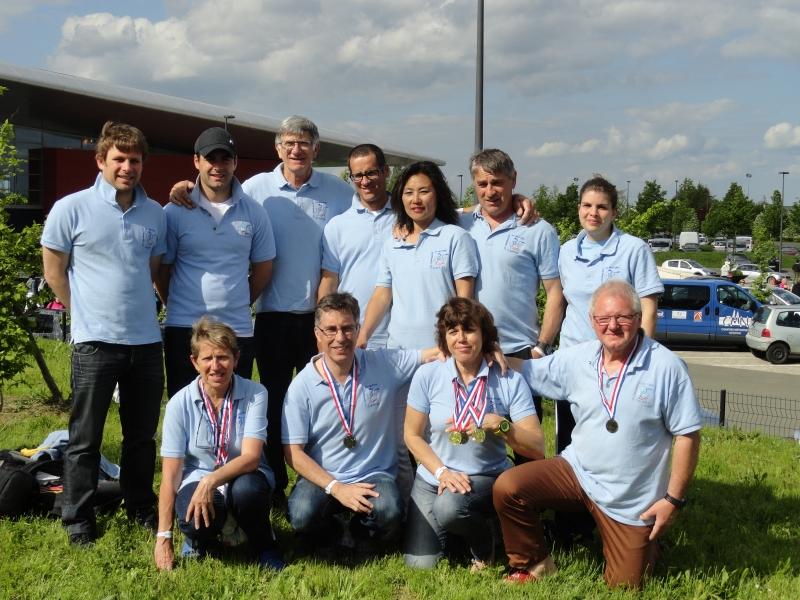 Equipe CDN Championnat de France Chartres 2016