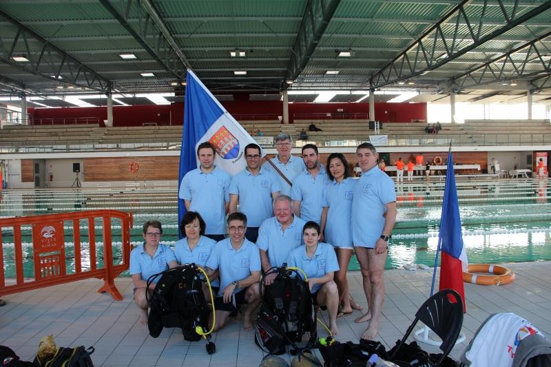Equipe CDN Championnat régional Nîmes 2016