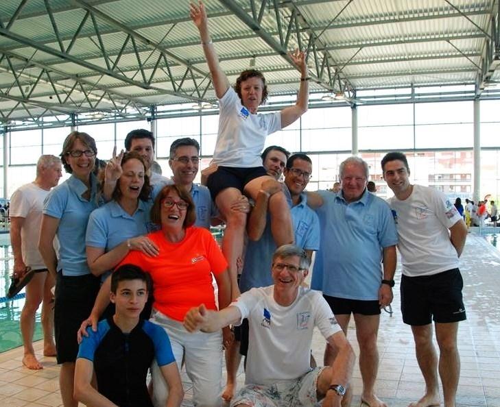 Equipe CDN championnat de France Nîmes 2015