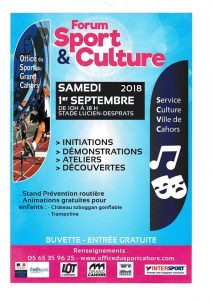Forum des Sports 2018 @ Stade Lucien Desprats | Cahors | Occitanie | France